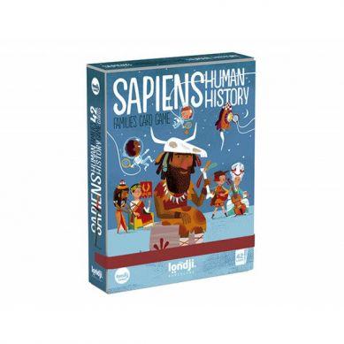 Londji - Gra Karciana dla Dzieci Sapiens Historia Człowieka 3+