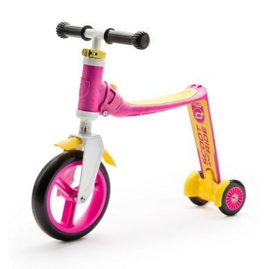 Scootandride - Highwaybaby PLUS 2w1 Hulajnoga i Rowerek Pink 1+