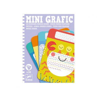 Djeco - Mini Grafika Kolorowanie Szlaczków