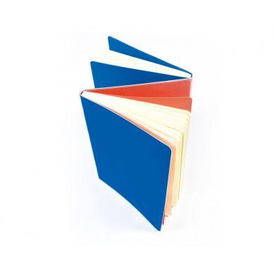 Ooly - Dwustronny Notatnik - Niebieski