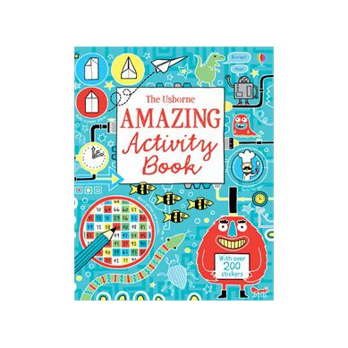 Wydawnictwo Usborne Publishing - Amazing Activity Book
