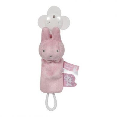 Tiamo - Zawieszka do Smoczka Miffy Pink Babyrib