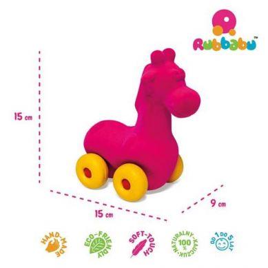 Rubbabu -  Żyrafa Pojazd Sensoryczny Różowy