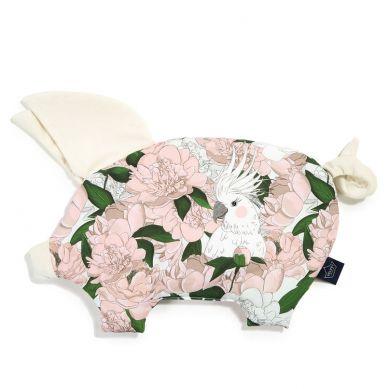 La Millou - Poduszeczka Sleepy Pig Lady Peony Rafaello by Małgorzata Rozenek
