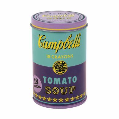 Mudpuppy - Kredki Świecowe Andy Warhole Purple