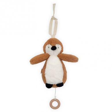Jollein - Pozytywka do Usypiania Pingwin Caramel