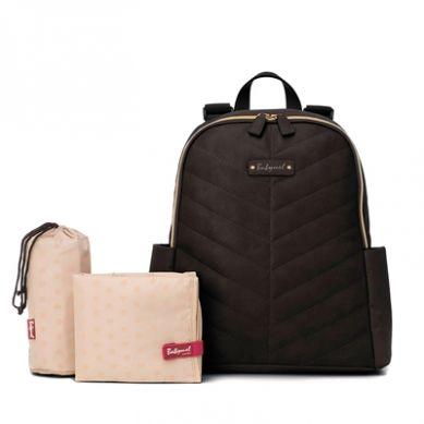 Babymel - Plecak z Ekoskóry Gabby Black Pack