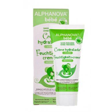 Alphanova Bebe - Krem Nawilżający do Twarzy do Skóry Atopowej 40 ml