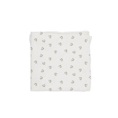 Baby Bites - Pieluszka Muślinowa 120x120 cm Chicks White
