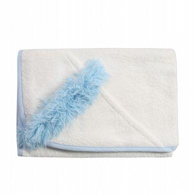 Bonbonkids - Ręcznik z Kapturkiem Irokezem Niebieski