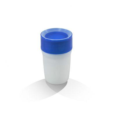 LiteCup - Świecący Kubeczek Niekapek Niebieski