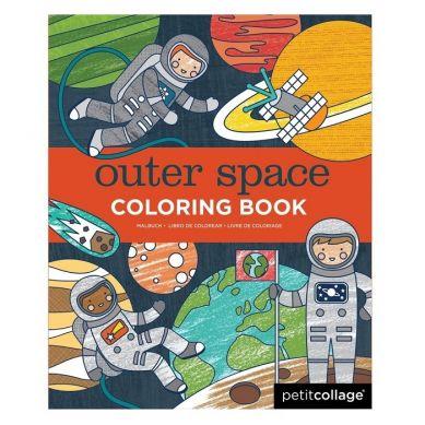 Petit Collage - Kolorowanka Kosmos