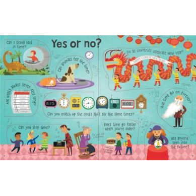 Wydawnictwo Usborne Publishing - Lift the Flap Questions And Answears Time