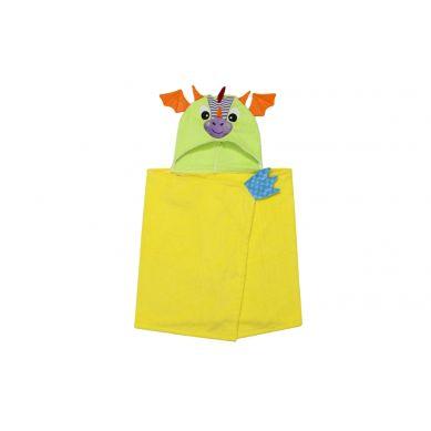 Zoocchini - Ręcznik dla Dziecka z Kapturem Smok