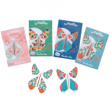 Mulin Roty - Zakładka do Książki Magiczny Motyl Niebieski