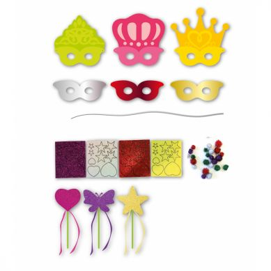 Apli Kids - Zestaw Artystyczny Maski Księżniczek