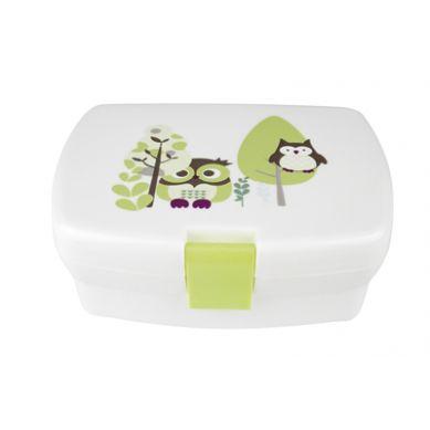 Kids Concept - Lunchbox Sowa Zielona