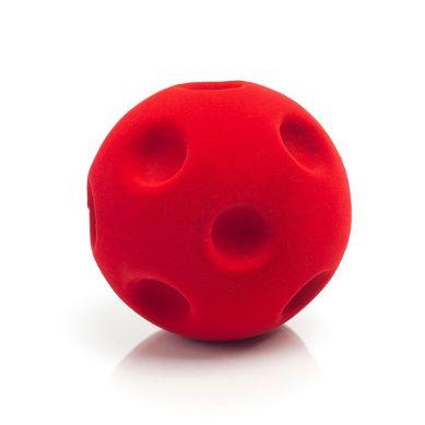 Rubbabu - Piłka Sensoryczna z Mocną Fakturą Kratery Czerwona