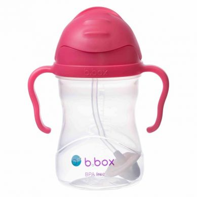 B. Box - Innowacyjny Bidon ze Słomką Malinowy