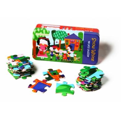 The Purple Cow Puzzle Królewna Śnieżka