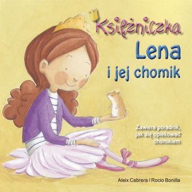 Wydawnictwo Adamada - Księżniczka Lena i Jej Chomik