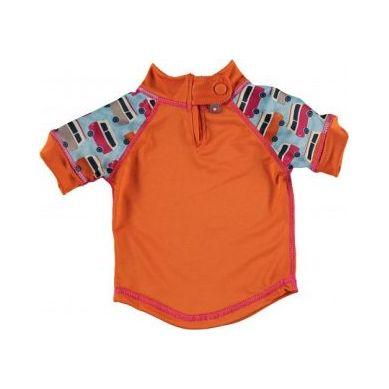 Close - Koszulka do Pływania UPF50+  BLUE/ORANGE Campervan M 12-18 miesięcy