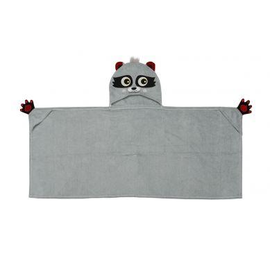 Zoocchini - Ręcznik dla Dziecka z Kapturem Szop Pracz