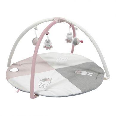 Tiamo - Mata Edukacyjna Miffy Pink Babyrib