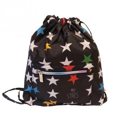 My Bag's - Plecak Worek XS My Star's Black
