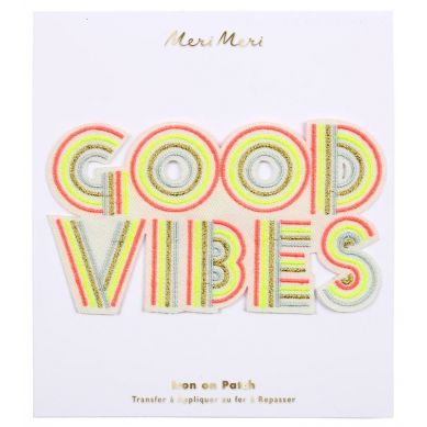 Meri Meri - Naprasowanka Good Vibes