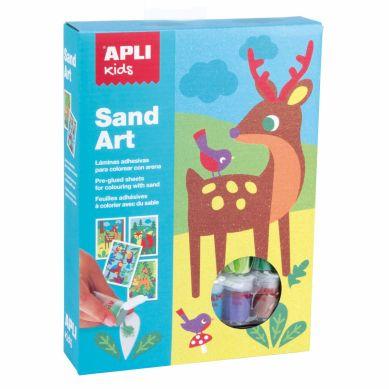 Apli Kids - Zestaw Artystyczny z Piaskiem