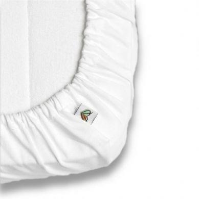 Nanaf Organic - Prześcieradło do Łóżeczka 120x60cm Białe