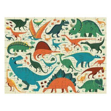 Mudpuppy - Dwustronne Puzzle Dinozaury 100 elementów 6+