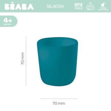 Beaba - Silikonowy Kubek Blue