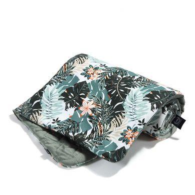 La Millou - Kocyk Średniaka Velvet Collection Papagayo Khaki