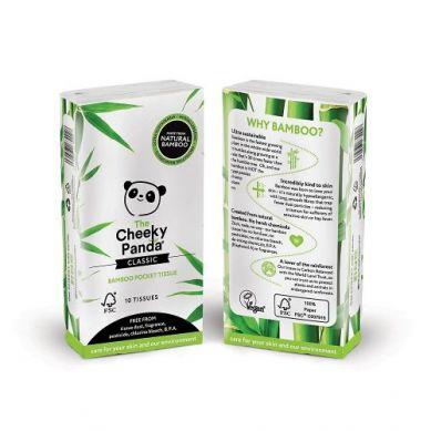 Cheeky Panda - Chusteczki Higieniczne Kieszonkowe Paczka 8pak