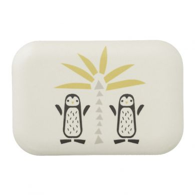 Fresk - Bambusowe Pudełko Śniadaniowe Pingwin