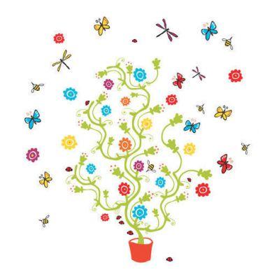 Djeco - Naklejki Dekoracyjne Magiczne Drzewo