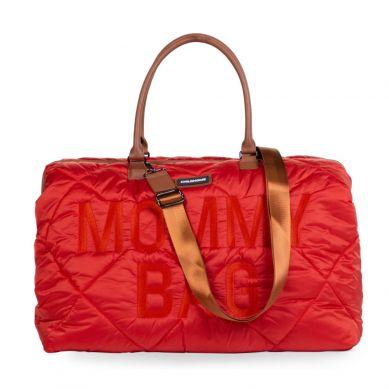 Childhome - Torba Mommy Bag Pikowana Czerwona