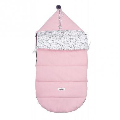 Malomi Kids - Śpiworek Dots Pink