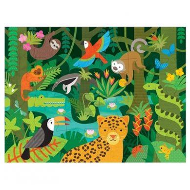 Petit Collage - Puzzle Podłogowe Dżungla