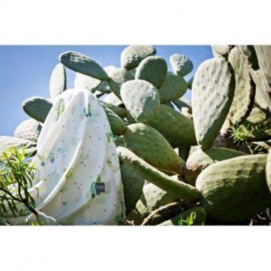 Poofi - Bambusowa Pieluszka Kaktusy 73x73 cm