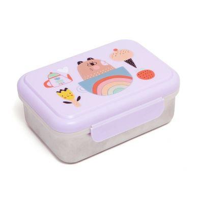 Petit Monkey - Lunchbox ze Stali Nierdzewnej Apple of My Eye
