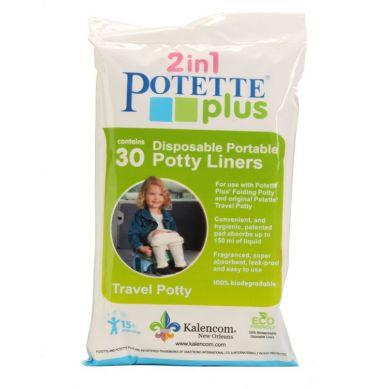 Potette Plus - Wkłady Jednorazowe do Nocnika 30 szt.