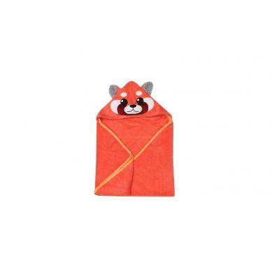 Zoocchini - Ręcznik dla Niemowlaka z Kapturem Panda Ruda