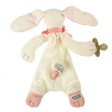 Maud'N'Lil - The Bunny Comforter Organiczny Mięciutki Pocieszyciel Rose