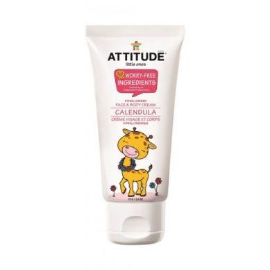 Attitude - Krem dla Dzieci do Twarzy i Ciała Nagietkowy 75 gr