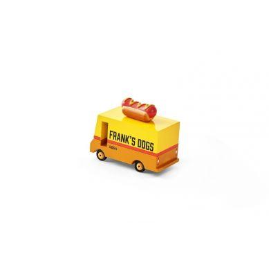 Candylab - Drewniany Samochód Hot Dog Van