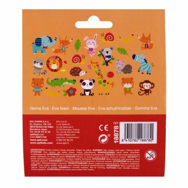 Apli Kids - Naklejki Z Pianki EVA Zwierzęta 24 szt.
