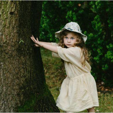 La Millou - Kapelusz Małej Damy Blue Leaves Vivid